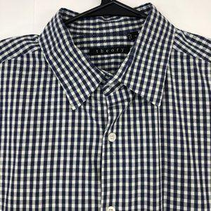 Theory Men's XL Regular Fit Button Front Dress